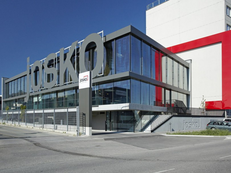 Josko center wien architekt schruckmayr zt gmbh for Josko fenster